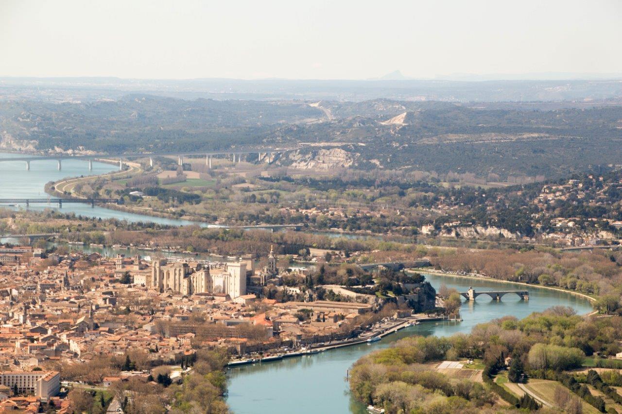 Avignon vue panoramique