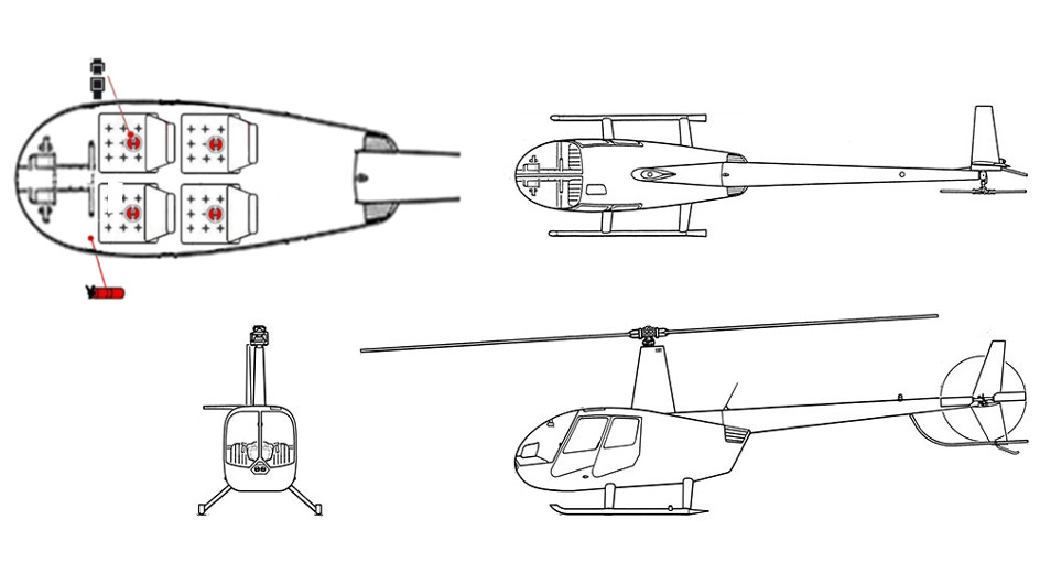 Plan du Robinson R44