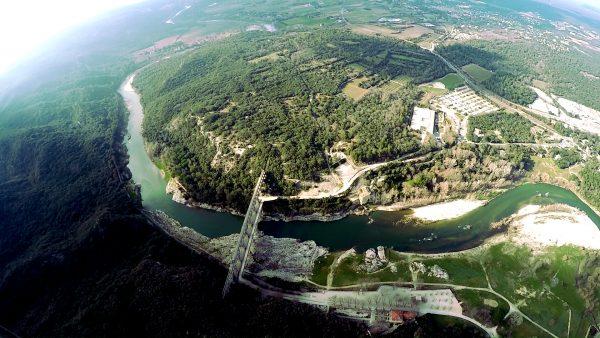 Vue Aérienne du Pont du Guard 2