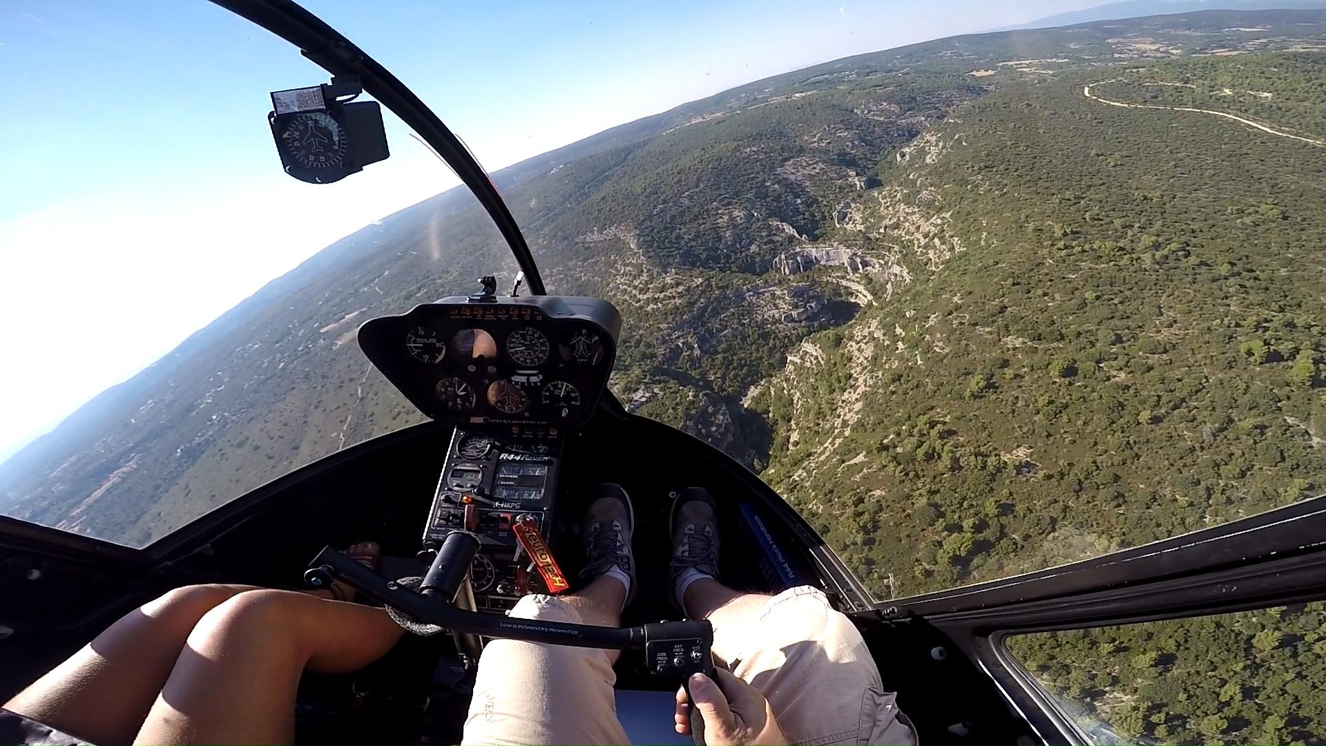 vue cockpit R44