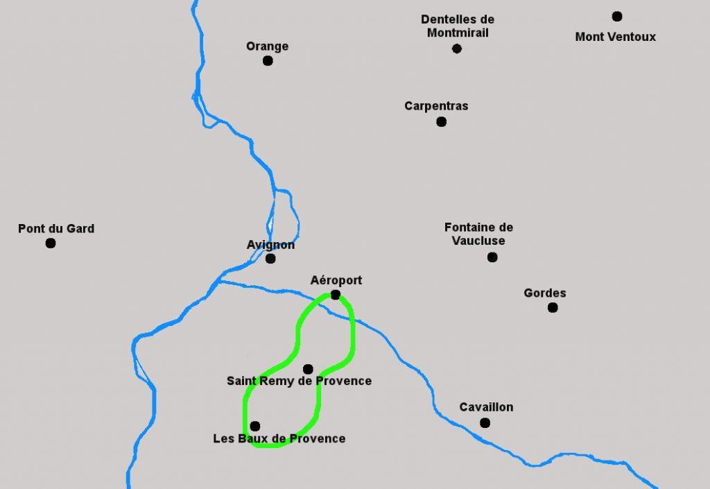 Circuit en hélicoptère des Alpilles