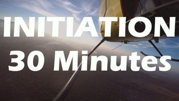 Vol d'initiation au pilotage en R22 de 30 minutes