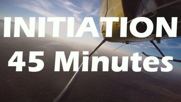 Vol d'initiation au pilotage en R22 de 45 minutes