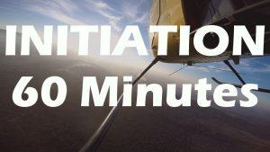 Vol d'initiation au pilotage en R22 de 60 minutes