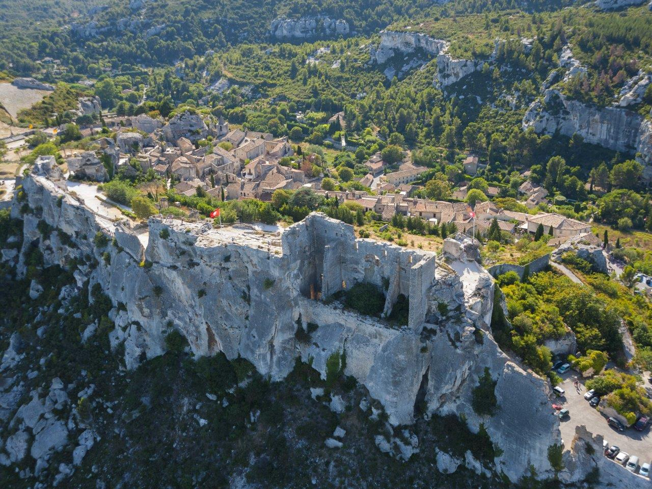The Alpilles - Saint Remy de Provence - The Baux de Provence