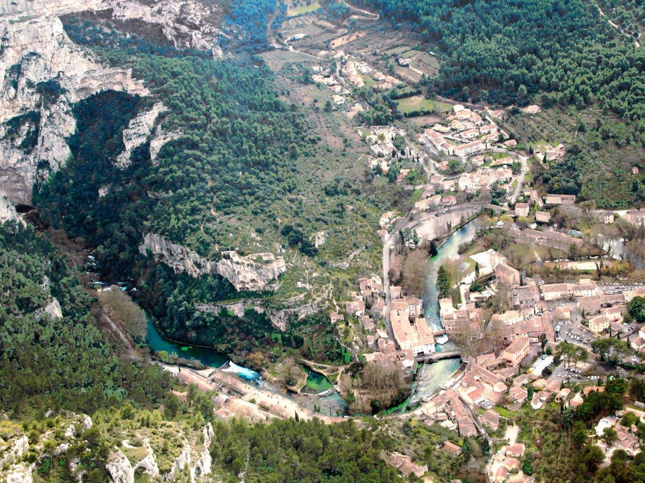 Fontaine de Vaucluse - Gordes - Senanque Abbay