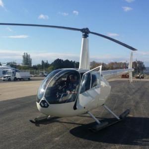 Cours de pilotage hélicoptère sur R44 Robinson