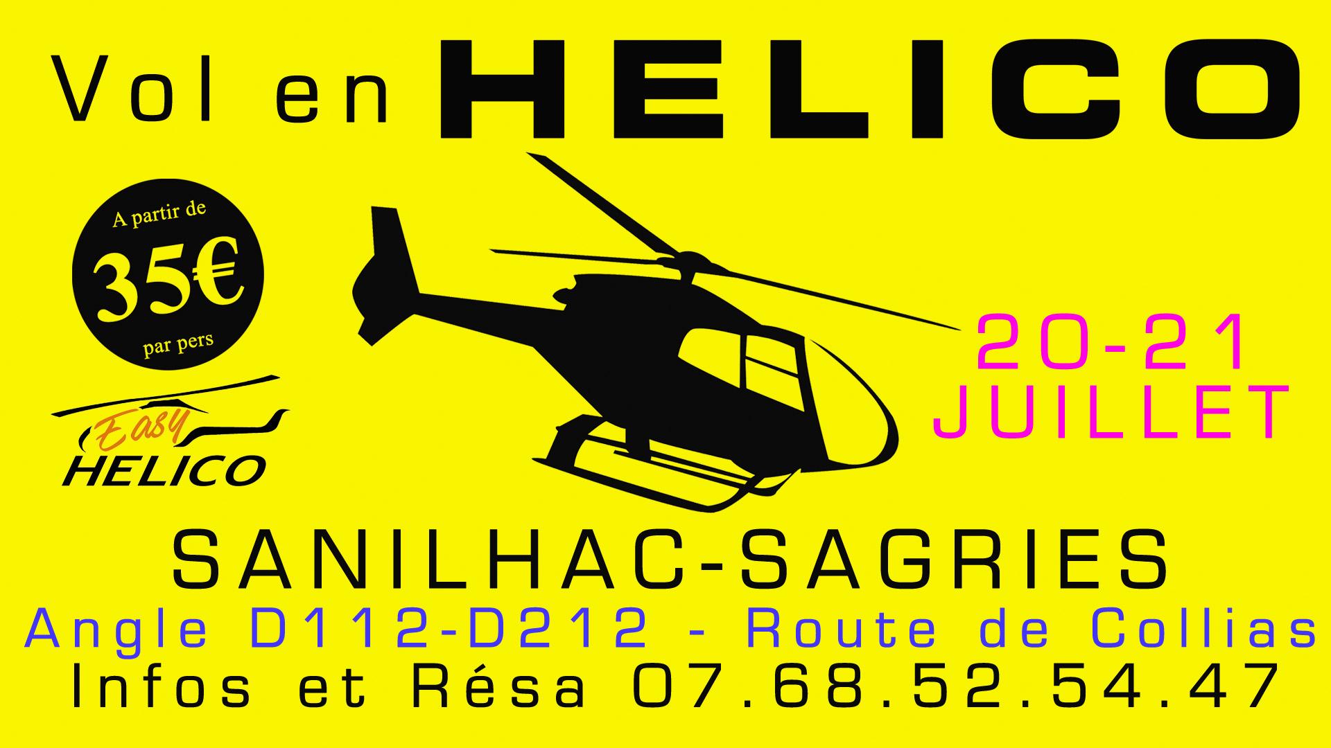 Bapteme hélico rosans 20-21 juillet 2019